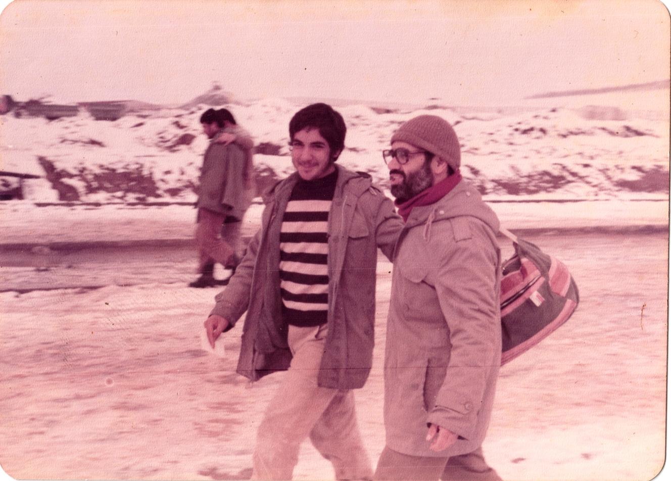 شهید محمد باقر نادم و جانباز ابراهیم اکبری نژاد